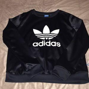 Dark navy adidas sweatshirt